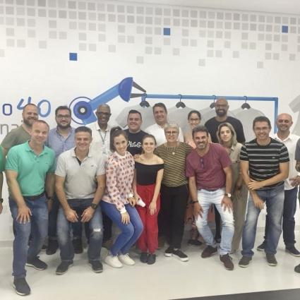 CORATEX PARTICIPA DA VISITA NO SENAI-SP - CONFECÇÃO 4.0 COM O GRUPO SCMC.